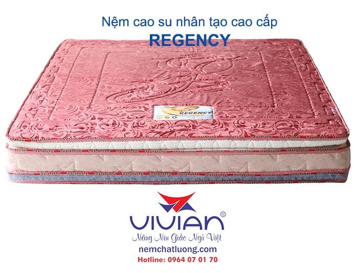 Nệm cao su nhân tạo Regency cao cấp 001