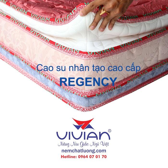 Nệm cao su nhân tạo Regency cao cấp 004
