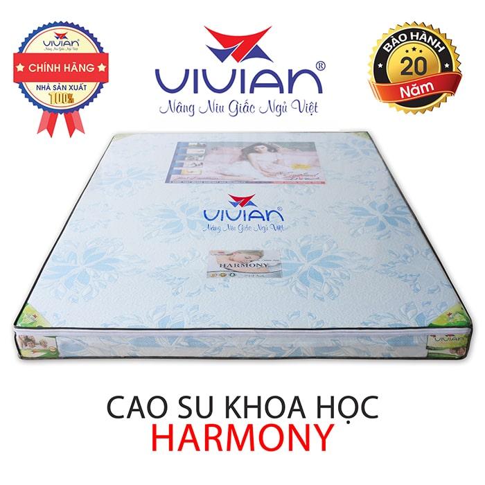 Nệm cao su khoa học Vivian cao cấp harmony 001