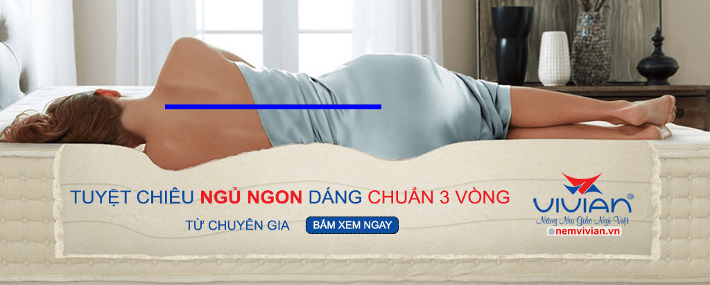 Banner bí quyệt ngủ ngon dáng chuẩn 3 vòng Vivian chính hãng