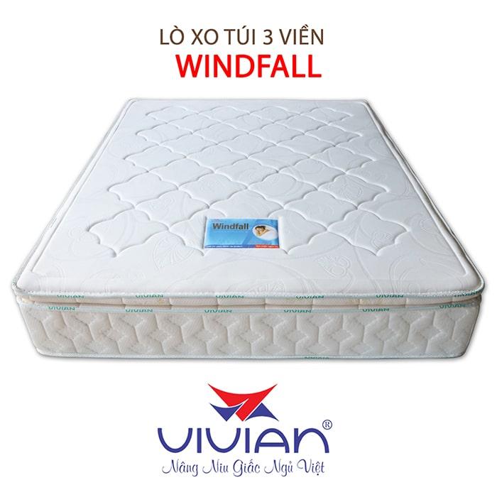 Nệm lò xo túi cao cấp 3 viền Winfall chính hãng 001