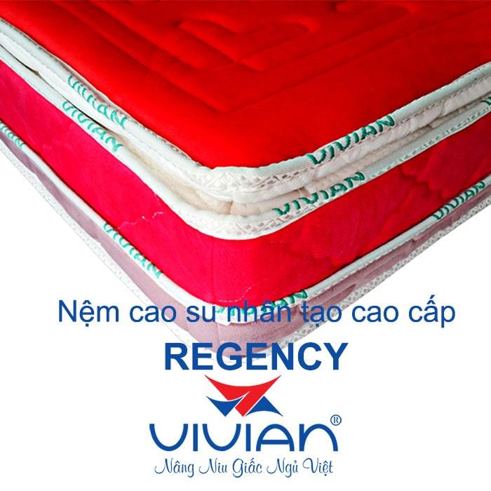 Nệm cao su nhân tạo Regency cao cấp 002