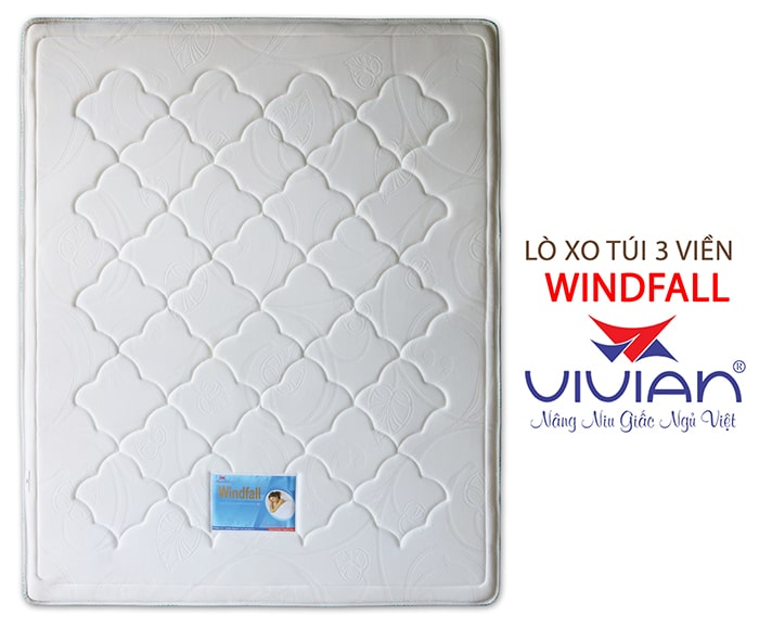 Nệm lò xo túi cao cấp 3 viền Winfall giá tốt