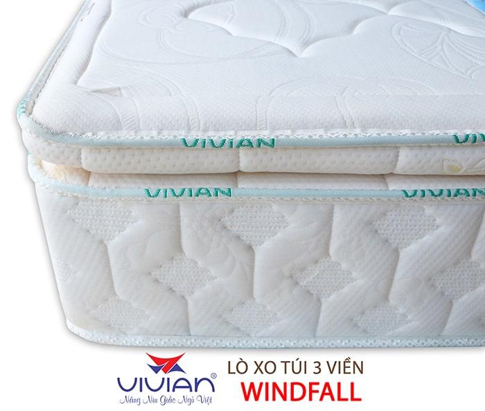 Nệm lò xo túi cao cấp 3 viền Winfall giá tốt nhất